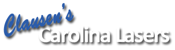 Clausen's Carolina Lasers Mobile Logo
